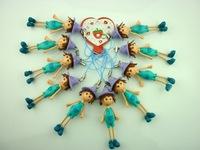 20Pcs /2014 New Arrive Doll Figures  Pendant 6cm
