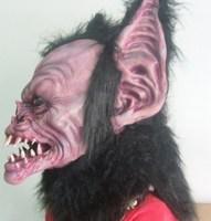 New 2014 Batman Halloween mask ball latex hood cosplay devil silicone masks carnaval party mask masquerade masks Free shipping