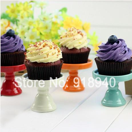 Ceramic Afternoon Tea Dessert Snack Rack Cupcake Wedding Cake Stand Cake Side Table Pallet(China (Mainland))
