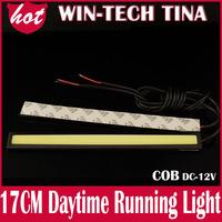 4PCS/LOT Ultra-thin 9W COB Chip New update 84 LED Daytime Running Light 100% Waterproof LED DRL Fog car lights