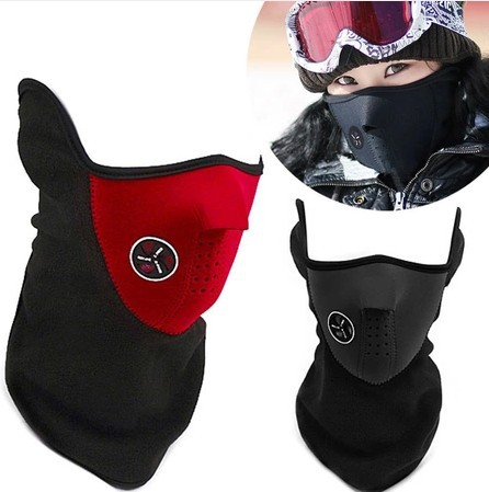 Sport windproof face mask Cycling mask dustproof half face mask bike cap motorcycle running ski masks warm hat Outdoor(China (Mainland))