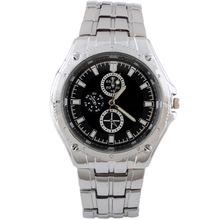 New Free ShippingFashion Jewelry Black Surface Quartz Wrist Watches For Men
