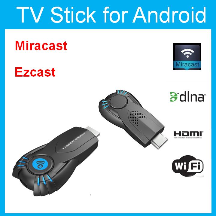 Vsmart v5ii ezcast smart tv stick media player with function of DLNA Miracast better than android tv box chromecast mk808 mk908()