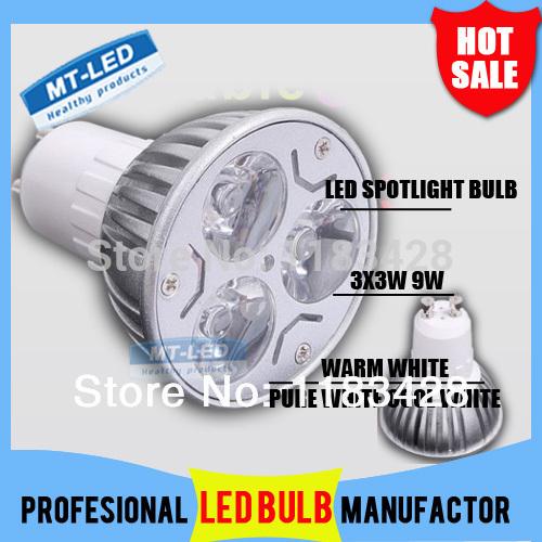 X10 Free shipping High power CREE Led Lamp Dimmable GU10 9W 12W 15W 85-265V Led spot Light Spotlight led bulb downlight lighting(China (Mainland))