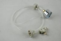 DIY aquarium planted tank CO2 system pro tube valve guage bottle cap kit D201dui Free shipping