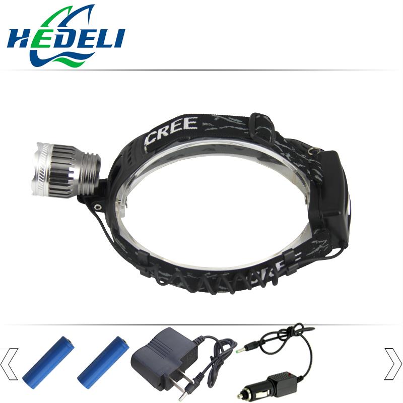 Free Shipping Wholesaler Headlights Cree Xml T6 Led Headlamp Torch Clip Mini Light Head Flashlight for Camping Climbing Ht403(China (Mainland))
