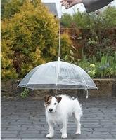 free shipping dog umbrella dog rainy coat  dog waterproof foldable umbrella useful