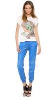 Leopard Pattern New 2014 t shirts Women T-Shirts Plus Size T Shirt Free Shipping  HDY-14