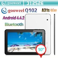 Gooweel BS1078 Allwinner Quad core  tablet PC  Android 4.4.2 HDMI WIFI camera Bluetooth OTG 1GB RAM 8GB/16GB ROM