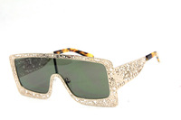 New arrival metal sunglasses hollowed-out 1201467 fashion gold sun glasses brand
