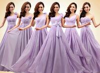 2014 New cheap Beautiful Dresses Six Styles Maxi Long Dress  Purple  Pink  Red Champagne Bridesmaid Dress  Wedding under $50