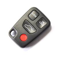 Remote Key Case Shell VOLVO S40 S60 S70 S80 S90 V40 V70 V90 XC70 XC90 Fob 3+1 BTN