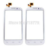 (5pcs/lot) original glass digitizer for Alcatel One Touch Pop C5 5036A 5036X 5036D 5037A 5037X 5037E touch screen white