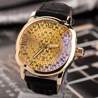 New Arrival Men Quartz Watches,New Noyer Brand Night Light Luxury Men Wrist Watch,Leather Analog Watches With Date Calendar