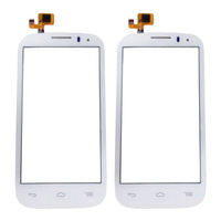 original touch screen for Alcatel One Touch Pop C5 5036A 5036X 5036D 5037A 5037X 5037E digitizer white (3pcs/lot)