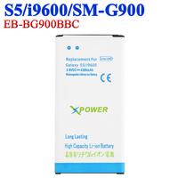 5 pcs EB-BG900BBC Quality battery For Samsung Galaxy S5 i9600 SM-G900 SM-G900F SM G900F/H/V Batterie Batterij Bateria AKKU ACCU