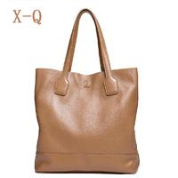 2014 women's genuine leather handbag fashion tote bag first layer of cowhide women's handbag