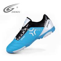 2014 free shipping nails gel professional men sportswear functional training soccer shoes indoor futsal