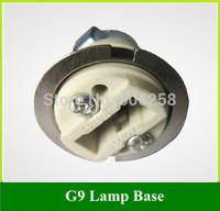G9 Lamp Beads Lampholders  / G9 LED Crystal Lamp Chandelier Holder / G9 halogen Block Base Socket  20PCS