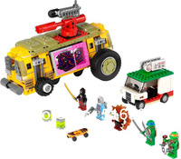 Bela Teenage Mutant Ninja Turtles The Shellraiser Street Chase Building Blocks Sets Educational Bricks Toys For Children
