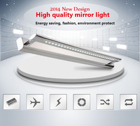 Free shipping 7w led modern wall sconce mirror lamps bedroom LED bathroom mirror lights for home 47cm warterproof IP65