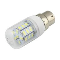 Illuminous LED Light Base B22 27x5730 SMD 4W AC 110V 220V Corn Style Indoor Garden used  10 PCS/LOT Free Shipping