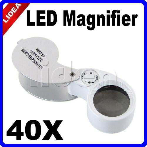 Лупа LIDEA 40 X LED HK f/38 F-38 lidea 11 1 hk hw 18 hw 18