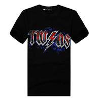 camiseta Fashion Brand DSQ t shirt men shirts 100 cotton  tshirt casual tshirts for man male style design sport tee d2  t-shirt