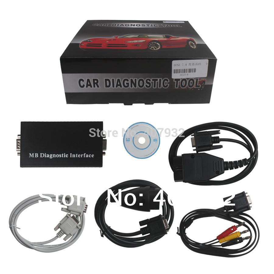 Анализатор двигателя Best MB Carsoft 7.4 Multiplexer MB Carsoft 7.4 MCU DHL 1