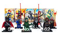 2014 the latest Decool superhero series, the avengers alliance. 0134-0139. Children educational assembled block. No original box