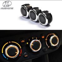 Car AC Knob Air Conditioning heat control Switch knob Aluminum alloy accessory,suitable for Suzuki Swift SX4 new ALTO 2012-2013