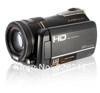 2014 new brand HD CMOS sensor type DV Digital Camera video HDV-200E 12 times optical zoom full HD 1080P 20.1 millions pixels