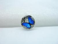 10pcs 12mm Handmade Photo Glass Cabochons (Butterfly) GB41-13