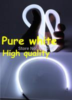 High quality Flexible 85cm Cut IP65 E4 Pure White LED Daytime running light DRL strip/ Headlight stripe