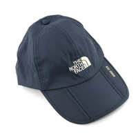 Waterproof Outdoor Hat Foldable Leisure Sports Cap Adjustable Strap & Brim - Dark Blue