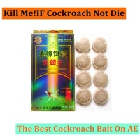 8pcs 1 package Hot Sales! 2014 New Anti Cockroach Medicine Clear Cockroach Killer German Cockroach Particle Free&Drop Shipping