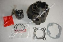 40mm Cylinder Set / Cylinder Kit / Top End Kit for 2 stroke Scooter Minarelli 1E40QMB JOG50 ZIP KEEWAY Hurricane 50 w/ 10mm pin(China (Mainland))