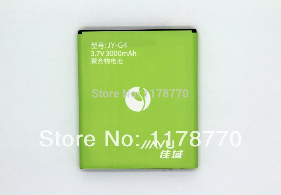100% novo bateria para JY Jiayu G4 celular G5 3000 mAh Bateria de espessura de alta qualidade número de expedição + rastreamento gratuito(China (Mainland))