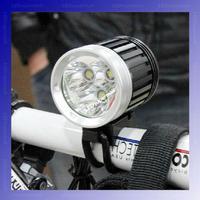 4500-Lumen 3T6 LED High Power Bicycle Light For 3*Cree XM-L T6 4-Mode LED bike light Kit