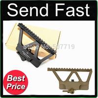 Quick Detach AK Railed Scope Mount Picatinny Side Rail Mounting for AK-47, AK-74 Black or Tan