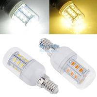 E14 5730 LED light Led lamp Corn Bulbs E14 5730 24LEDs Lamps 5730 SMD 6W Led lighting 220-240V With Cover SV000676 B002