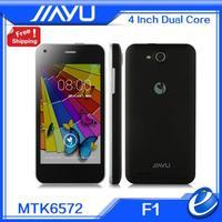 JIAYU F1 3G WCDMA 4.0inch android phone MTK6572 dual core dusl sim 3G cellphone 512MB RAM 4GB ROM 5MP TFT 2400mah GPS  free gift