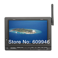 7 inch No Blue Screen Built-in 5.8GHz Wireless Receiver Outdoor FPV LCD Monitor For Aerial Photography Ground Station And DVR