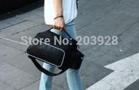 hot!! Cycling Bike Carbon Fiber Leather Bicycle Rear Rack Seat Pannier Bag Pouch 10L