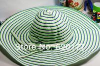Fashion Fabric wild fashion big hat sun hat bow hat special wholesale