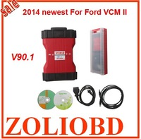 Hot selling DHL Free 2015 mutli-language for Ford vcm ii on sale for ford vcm 2 ids v90.1 VCM II auto Diagnostic Tool in stock