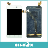 100% Guarantee Original Full LCD Screen with Touch Screen Digitizer Assembly For Jiayu G4 JY-G4  Black/White Free Shipping