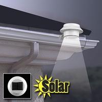 3 LED solar garden lamp 2Pcs/Lot garden outdoor decoration solar lamp lights Senser lamp solar panel luminaria solar