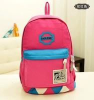 New 2014 Canvas Shoulder Bag Travel Backpack Canvas Backpack 1B013