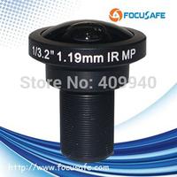 Megapixel Fisheye Lens 1.19mm with Panoramic image